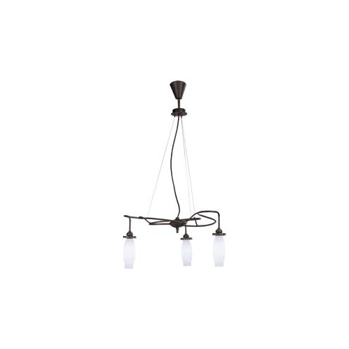 Lamp International Deco Three Light Chandelier