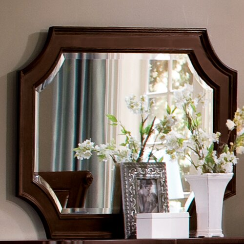 Wynwood Furniture Sutton Place Arched Dresser Mirror