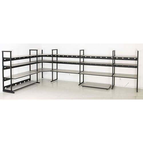 Kendall Howard LAN Rack Corner Shelf Kit for 4-Post Plus Performance Workbench