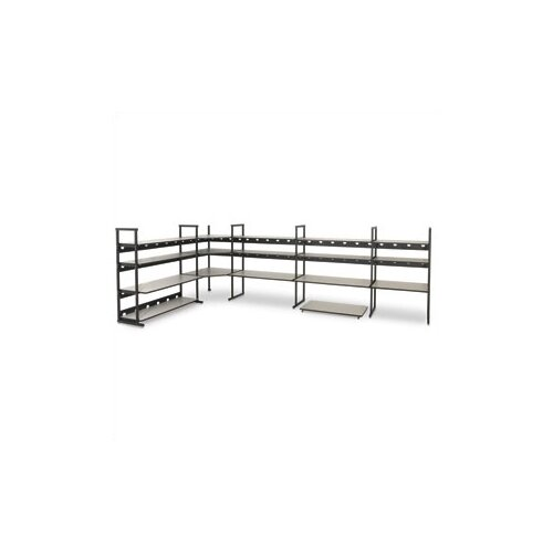 "Kendall Howard 4 Post LAN Rack Bundle - 60"" W"