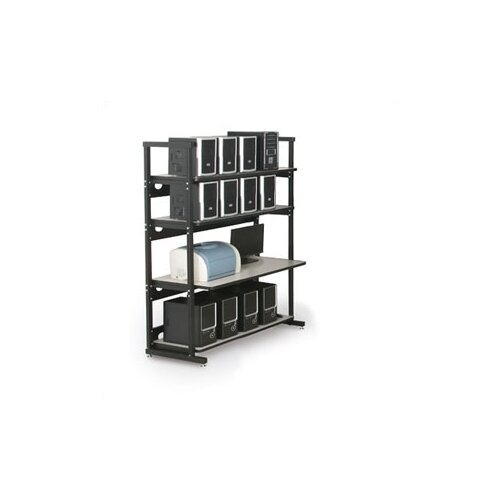 "Kendall Howard 4 Post LAN Rack Bundle - 48"" W"