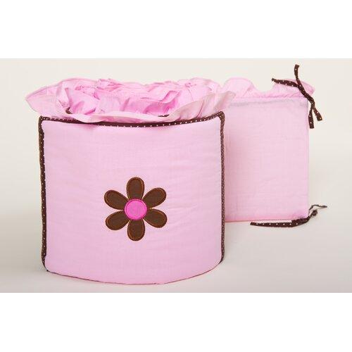 Pam Grace Creations Pam's Petals Crib Bumper