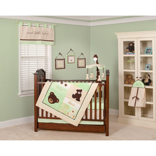 Pam Grace Creations Baby Bear 10 Piece Crib Bedding Set