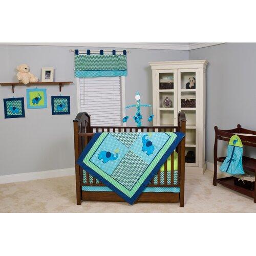 Pam Grace Creations ZigZag 10 Piece Crib Bedding Set
