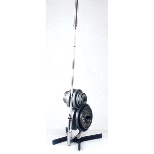 Cap Barbell Plate Rack with Bar Holders
