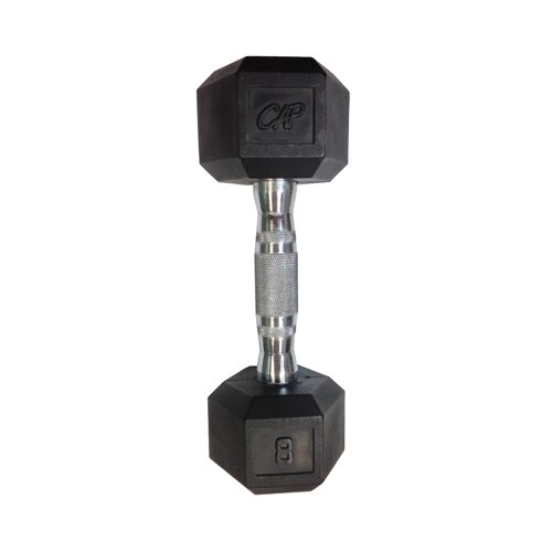 Cap Barbell Coated Cast Iron Dumbbell