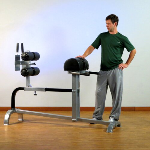 Commercial Extension Flat Hyperextension Bench