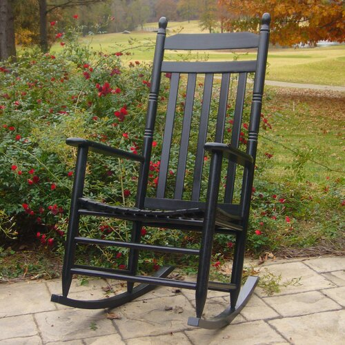 Dixie Seating Company 2 Adult Rocking Chairs & Table