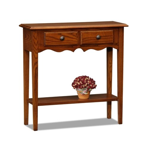 Leick Furniture Favorite Finds Petite Console Table