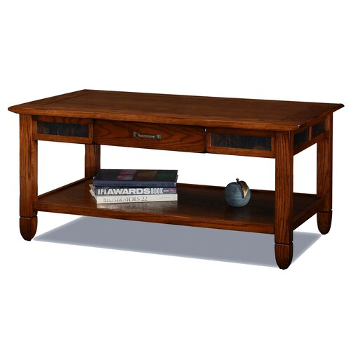 Leick Furniture Slatestone Coffee Table