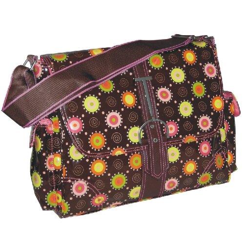 Multitasker Doodle Bug Print Messenger Bag