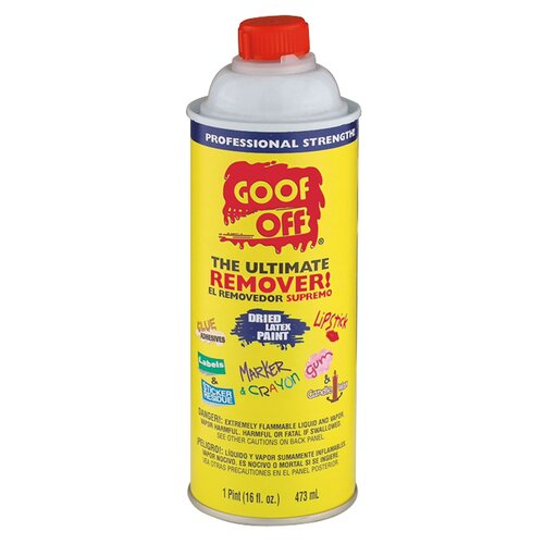 Bosch Power Tools 16 Oz VOC Goof Off® Cleaner FG654