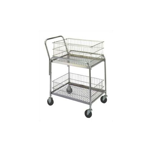 """Wesco Manufacturing 37.5"""" Compact Office Cart"""