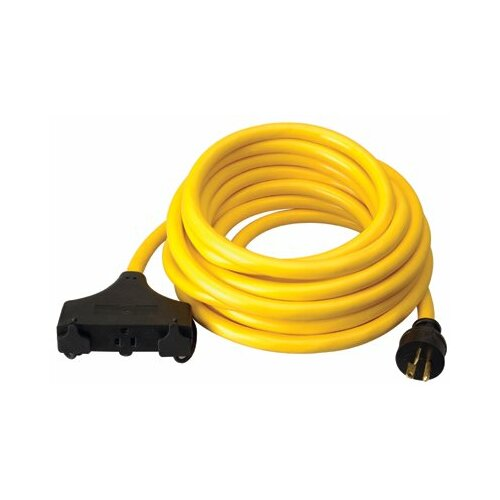 Coleman Cable Coleman Cable - Generator Extension Cords 10/3 25' Sjtw Generatorcord 20 Amp: 172-01911 - 10/3 25' sjtw generatorcord 20 amp