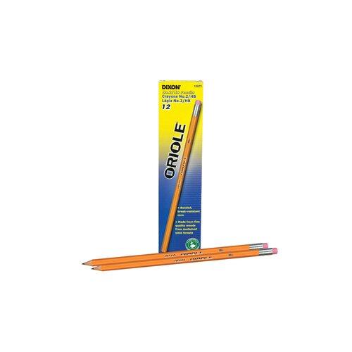 Dixon Ticonderoga Company Oriole Woodcase Pencil, 6 bxs/Pack