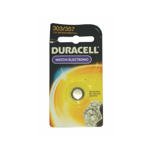 Duracell Duracell - Duracell Watch/Electronic Batteries 1.5 Volt Silver Oxide Watch Battery: 243-D303/357Pk - 1.5 volt silver oxide watch battery