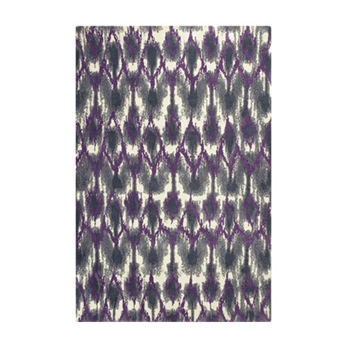 Allure Grey / Purple Horizon Rug