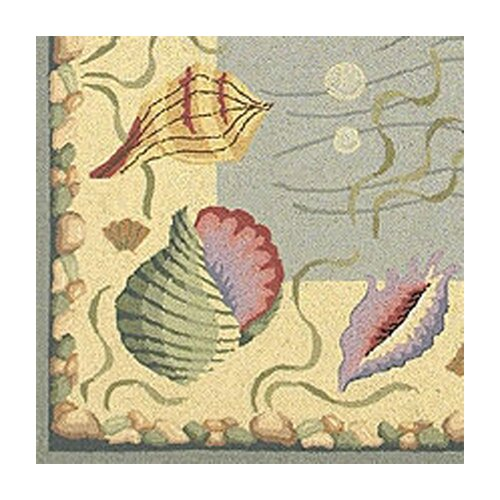 KAS Oriental Rugs Colonial Ocean Surprise Novelty Rug