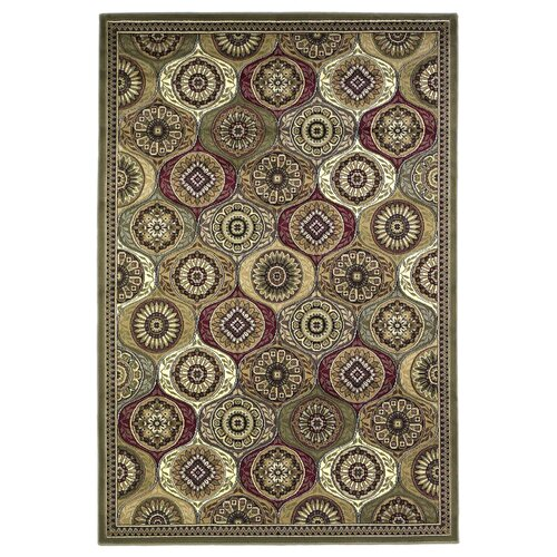 KAS Oriental Rugs Cambridge Multi Mosaic Panel Rug