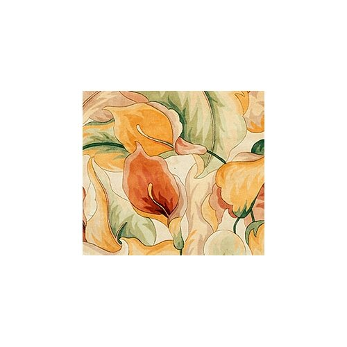 KAS Oriental Rugs Catalina Ivory Calla Lillies Rug