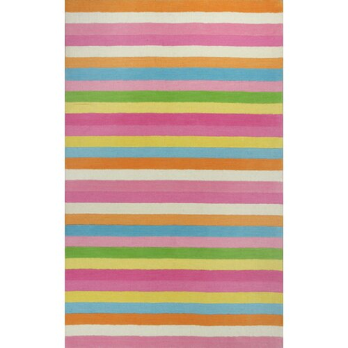 KAS Oriental Rugs Kidding Around Chic Stripes Rug