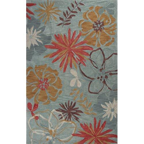 Anise Ocean Wildflowers Rug