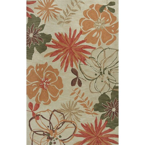 Anise Ivory Wildflowers Rug