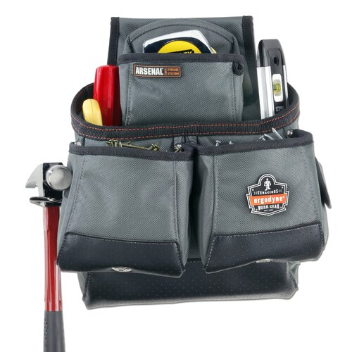 Ergodyne Arsenal 16-Pocket Tool and Fastener Pouch