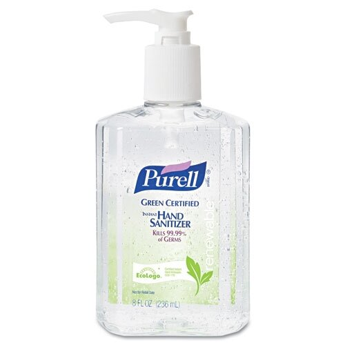 Gojo Purell Certified Instant Hand Sanitizer - 8 OZ