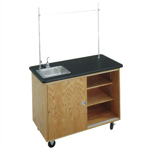 Diversified Woodcrafts Economy Mobile Laboratory Table