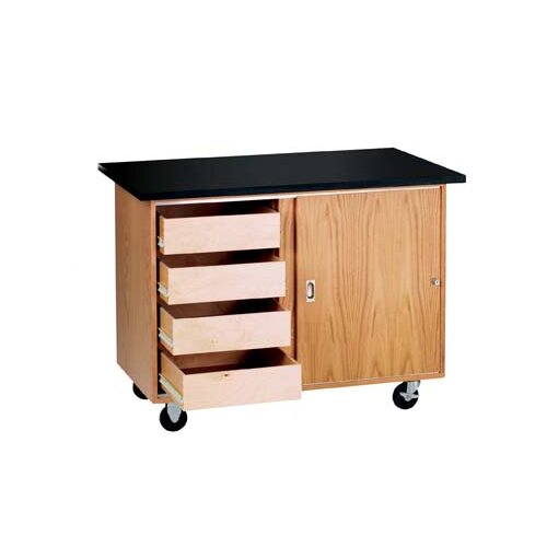 Diversified Woodcrafts Mobile Demonstration Table