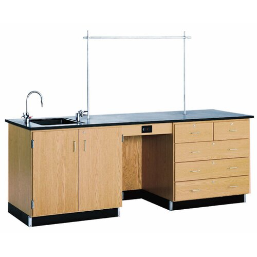 "Diversified Woodcrafts 8"" Instructor's Desk"