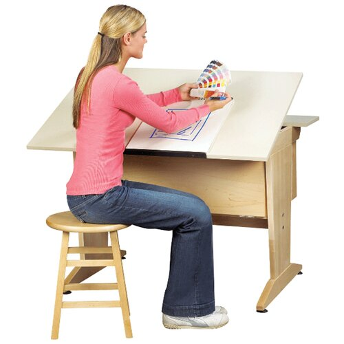 Diversified Woodcrafts Drafting and Drawing Table