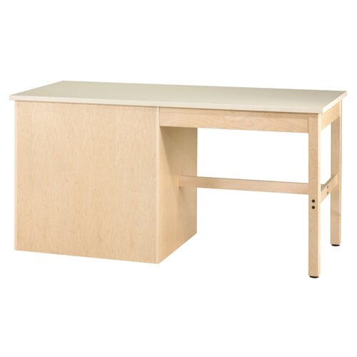 Diversified Woodcrafts Layout Maple Veneered Plywood Workbench