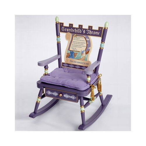 Levels of Discovery Rock A Buddies Grandchild's Throne Kid Rocking Chair