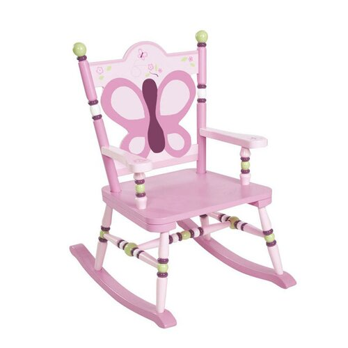Levels of Discovery Sugar Plum Kid's Rocking Chair