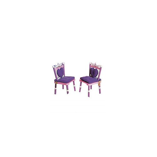 Levels of Discovery Princess Kid's Desk Chair (Set of 2)