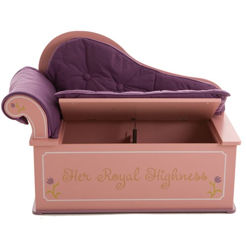 Levels of Discovery Princess Painting Kid's Chaise Lounge