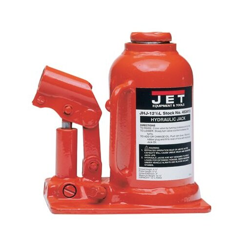 Jet JHJ Series Heavy-Duty Industrial Bottle Jacks - jhj-5 5t cap. hydraulicjack ind. heavy