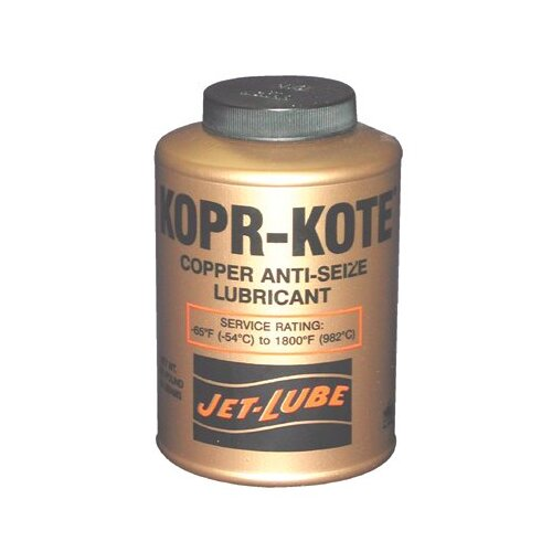 Jet-Lube Kopr-Kote® High Temperature Anti-Seize & Gasket Compounds - kopr-kote 1/4lb btc leadfree anti-seize