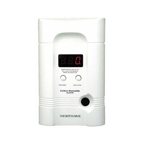 Kidde Kidde - Direct Plug & Batt Operated Co Alarms Carbon Monoxide Alarm  Digital Monitor: 408-900-0099-01 - carbon monoxide alarm  digital monitor