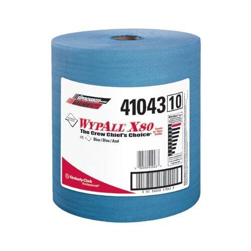 Kimberly-Clark Wypall® X80 Shoppro® Jumbo Wipers - 475 Sheets per Roll