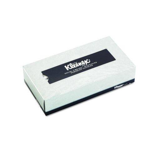 Kimberly-Clark Kleenex Facial 2-Ply Tissues - 125 Tissues per Box