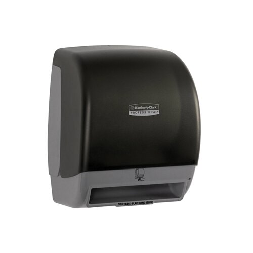 Kimberly-Clark Touchless Electronic Roll Towel Dispenser in Smoke / Gray