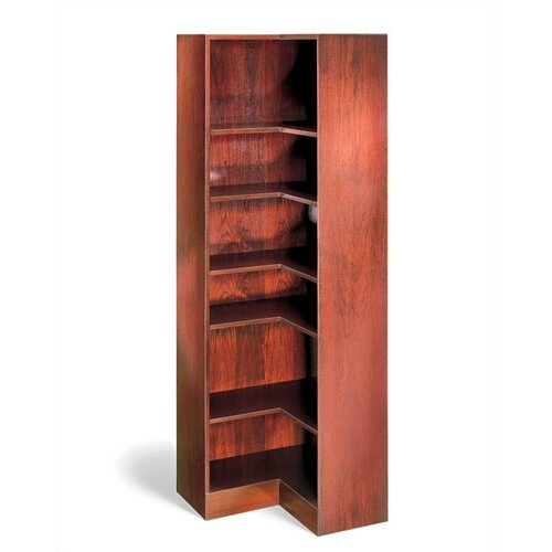Hale Bookcases 1100 NY Series Inside Corner Bookcase