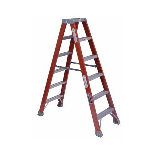 Louisville Ladder 4' FM1500 Series Twin Front Step Ladders