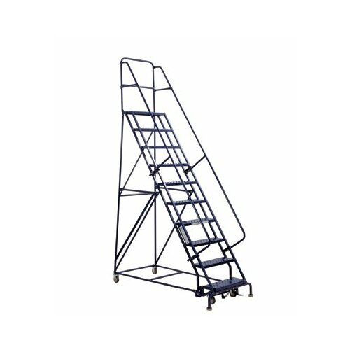 "Louisville Ladder 6'4"" GSW Series Warehouse Rolling Ladder"