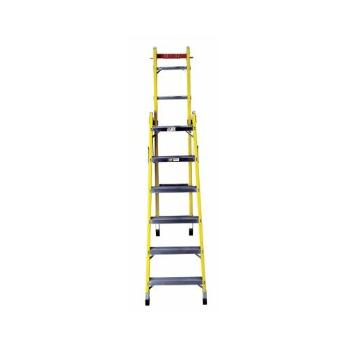 Louisville Ladder 8' FC1000 Series Rhino 375™ Multi-Position Ladder