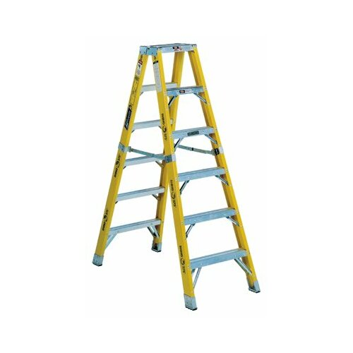 Louisville Ladder 8' FM1100HD Series Rhino Twin Front Mechanic Step Ladder