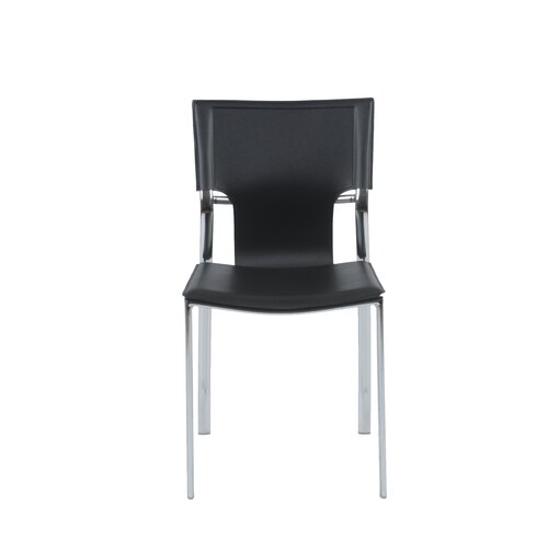 Vinnie Leather Side Chair